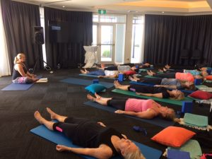 exercise class wellbeing retreat
