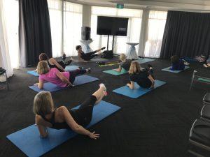 Exercise mat class